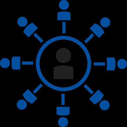 network circle illustration